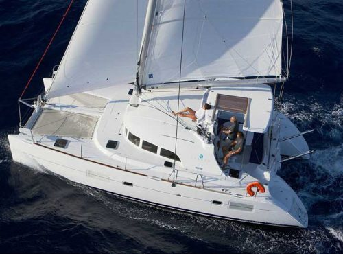 Lagoon 380 S2 - Catamaran Charter Greece