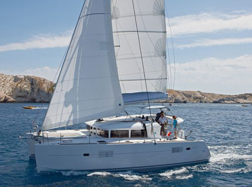 Lagoon 400 - Catamaran Charter Greece