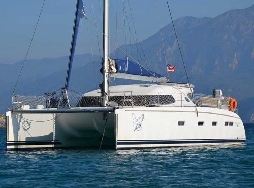 Nautitech 441 - Catamaran Charter Greece