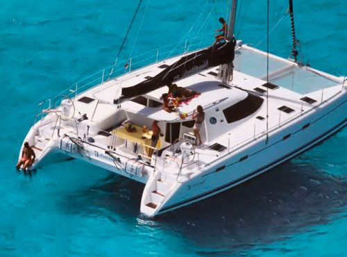 Nautitech 47 - Catamaran Charter Greece