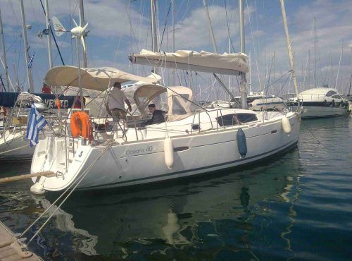 Oceanis 40 - Catamaran Charter Greece